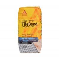 Adeziv pentru piatra naturala, SikaHome® TileBond Natural Stone, alb, 25 kg