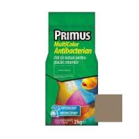 Chit de rosturi gresie si faianta Primus Multicolor Antibacterian B53 ash grey, interior / exterior, 2 kg