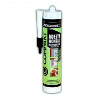 Adeziv pentru suprafete multiple, interior / exterior, Compakt Polimeric, negru, 280 ml