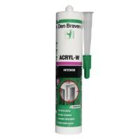 Etansant acrilic Den Braven Acryl - W, gri, interior, 280 ml