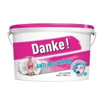 Vopsea lavabila interior, Danke Anti - bacterian, alba, 8.5 L