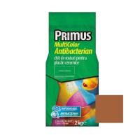Chit de rosturi gresie si faianta Primus Multicolor Antibacterian B55 brown sugar, interior / exterior, 2 kg