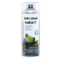 Spray vopsea Dupli-Color Next, argintiu satin mat, RAL 9006, interior / exterior, 400 ml