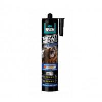 Adeziv pentru suprafete multiple, interior / exterior, Bison Grizzly Montage Extreme, alb, 435 g