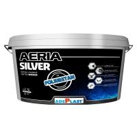 Vopsea lavabila interior, Adeplast Aeria Silver, alba, 2.5 L