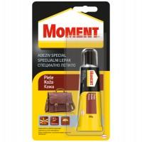 Adeziv pentru piele, interior / exterior, Moment Adeziv Special Piele, transparent, 30 g