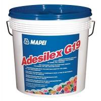 Adeziv pentru PVC / linoleum, Mapei Adesilex G19 10 kg, negru