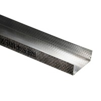 Profil gips carton din tabla zincata FS UW 100 x 30 x 4000 mm
