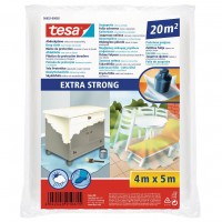 Folie protectie Extra Strong, tesa 56652, 0.035 mm, 5 x 4 m