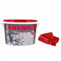 Vopsea superlavabila interior, Savana cu Teflon, alba, 8.5 L + laveta cadou