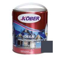 Vopsea alchidica pentru lemn / metal, Kober Ideea, interior / exterior, gri antracit, 4 L