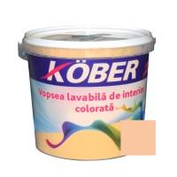 Vopsea lavabila interior, colorata, Kober, orange V8335, 4 L