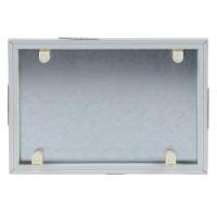 Usita vizitare faiantabila, Dakota, PVC + tabla galvanizata, 200 x 300 mm