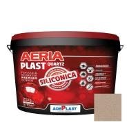 Tencuiala decorativa siliconica Aeria Plast, 2 mm, structurata, artar, interior / exterior, 25 kg