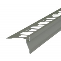 Profil picurator pentru balcon / terasa, AMO-PPB92, aluminiu, gri inchis, 2850 mm