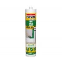 Mastic acrilic pereti si tavane, Soudal Turbo, alb, 280 ml