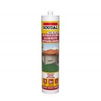 Silicon neutru Soudal, alb, interior / exterior, 280 ml