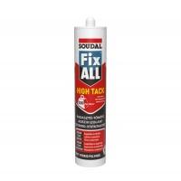 Adeziv pentru suprafete multiple, Soudal Fix All High Tack, alb, 290 ml