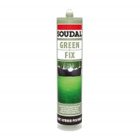 Adeziv pentru gazon sintetic, Soudal Green Fix, interior / exterior, verde, 290 ml