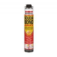 Adeziv poliuretanic pentru constructii, aplicare cu pistol, Soudal Soudabond Easy, 750 ml