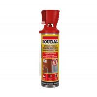 Spuma poliuretanica pentru montaj si etansare, cu aplicare manuala, Soudal, 500 ml