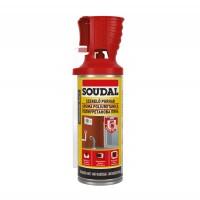 Spuma poliuretanica pentru montaj si etansare, cu aplicare manuala, Soudal, 300 ml