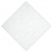 Tavan casetat OWAcoustic Lucero, fibra minerala, muchie dreapta, 600 x 600 x 12 mm, 5.76 mp / cutie