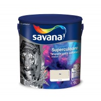 Vopsea gata colorata interior, Savana Superculoare, bej - armonie, 5 L