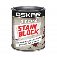 Amorsa perete Oskar Stain Block, interior, 1 L
