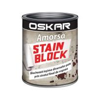 Amorsa perete Oskar Stain Block, interior, 2.5 L