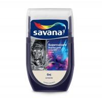 Tester culoare Vopsea gata colorata interior, Savana Superculoare, bej - armonie, 30 ml