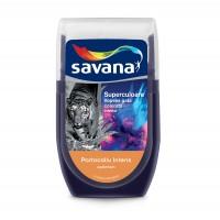 Tester culoare Vopsea gata colorata interior, Savana Superculoare, portocaliu intens - optimism, 30 ml