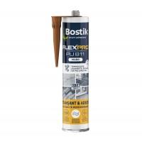 Etansant si adeziv poliuretanic, Bostik FLEXPRO PU 811, maro, interior / exterior, 300 ml