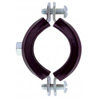 Colier metalic pentru tevi, cu garnitura de cauciuc, Friulsider, 1/2 inch