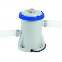 Pompa filtrare apa piscina Bestway 58145, 1249 l apa/ora + 2 furtunuri