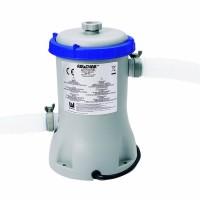 Pompa filtrare apa piscina Bestway 58148, 2006 l apa/ora + 2 furtunuri