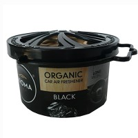Odorizant auto gel Aroma Car Organic, black