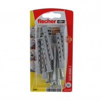 Diblu universal din nylon, cu surub, PZ3, Fischer SXR, 8 x 60 mm, set 6 bucati