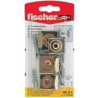 Set montaj oglinda, Fischer SKL M K, diblu 6 x 30 mm, surub 4 x 40 mm