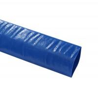 Furtun plat pentru evacuare, PVC + insertie textila, 3 bar, D 63 mm