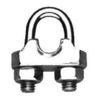 Brida zincata pentru legare cablu otel de 5 mm, Cablero CD011A05U