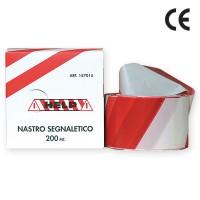 Banda delimitare MT200 4094-200, dungi rosu / alb, 200 m