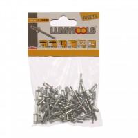 Nituri pop, aluminiu, Lumytools LT70490, 9.6 x 4.8 mm, 50 bucati