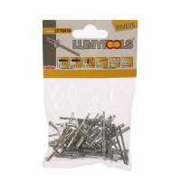 Nituri pop, aluminiu, Lumytools LT70410, 4 x 9.6 mm, 50 bucati