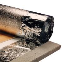 Folie parchet PEE aluminizata, 3 mm, 25 x 1 m