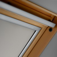 Rulou interior opac fereastra mansarda Velux DKL M04 1085, bej, 98 x 78 cm