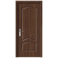 Usa de interior din lemn, SuperDoor F04-68-S, stanga / dreapta, stejar inchis, 203 x 68 cm
