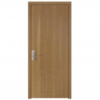 Usa de interior din lemn, SuperDoor F04-78-Q, stanga / dreapta, stejar deschis, 203 x 78 cm