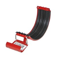 Element de imbinare jgheab Rainline RSK, rosu, D 125 mm