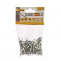 Nituri pop, aluminiu, Lumytools LT70500, 12.7 x 4.8, 50 bucati